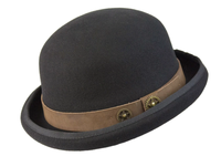 Conner Handmade Hats Victorian and Old West: Steampunk Steam Man Bowler