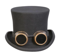 Conner Handmade Hats Victorian and Old West: Steampunk Monty Goggle