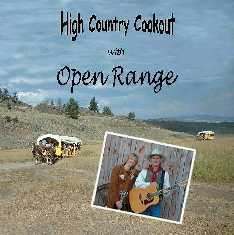 SALE CD Open Range: High Country Cookout, Radio Guest SALE