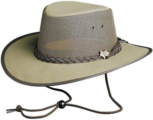 Conner Handmade Hats BC Hats: Mesh Cool As A Breeze Canvas Khaki