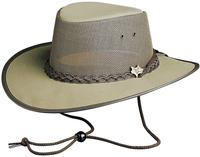 Conner Handmade Hats BC Hats: Mesh Cool As A Breeze Canvas Khaki S-2XL