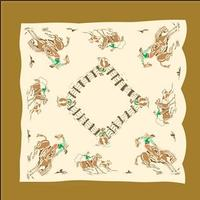 Rockmount Ranch Wear Accessory: Scarf Vintage Corral
