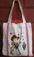 Tote Red and White Kitchen Tote: Little Cowboy SALE