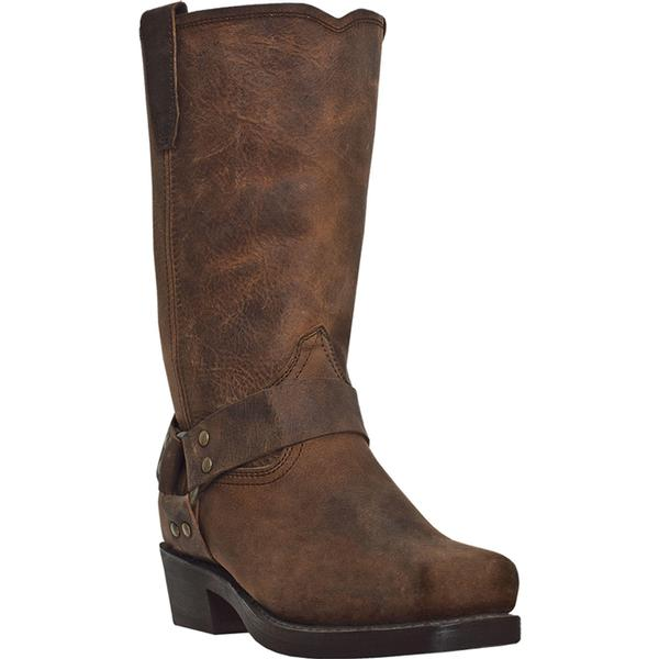 Men's Dan Post Boots Dingo: Harness Dean Dark Brown