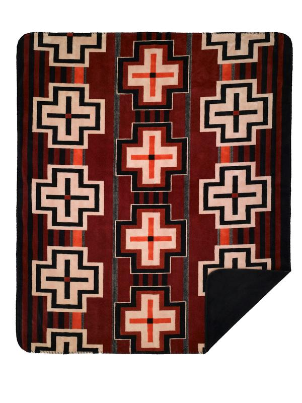 Denali® American Dakota Collection: Bounty Red Throw Blanket