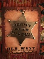 Colorado Silver Star Old West Badge: Deputy U.S. Marshal Star