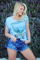 Original Cowgirl Clothing: Tee Crop Desert Dreamer S-XL