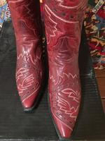 Ladies' Dan Post Boots Western Fashion: Sidewinder Red DEAL