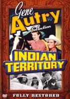 A DVD Singing Cowboy Gene Autry: Indian Territory