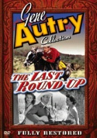 ZSold DVD Singing Cowboy Gene Autry: The Last Round-Up SOLD
