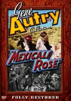 A DVD Singing Cowboy Gene Autry: Mexicali Rose