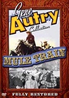 ZSold DVD Singing Cowboy Gene Autry: Mule Train SOLD