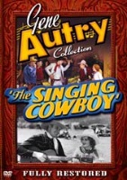 A DVD Singing Cowboy Gene Autry: The Singing Cowboy