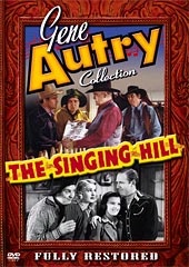 A DVD Singing Cowboy Gene Autry: The Singing Hill
