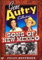 ZSold DVD Singing Cowboy Gene Autry: Sons of New Mexico SOLD