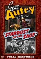 ZSold A DVD Singing Cowboy Gene Autry: Stardust on the Sage SOLD