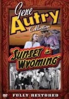 ZSold DVD Singing Cowboy Gene Autry: Sunset in Wyoming SOLD