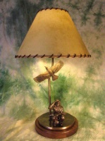 ZSold Lamp by Western Lamps: The Indian Scout SOLD