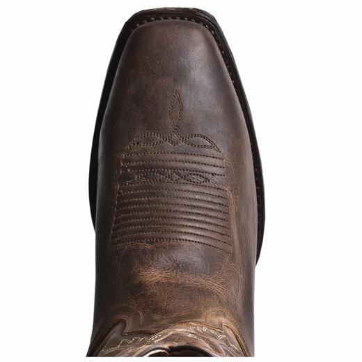 Men S Dan Post Boots Western Earp Square Toe D Ew 7 12 13