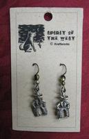 Spirit of the West Earring: Cowboy