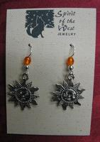Spirit of the West Earring: Southwest Sun