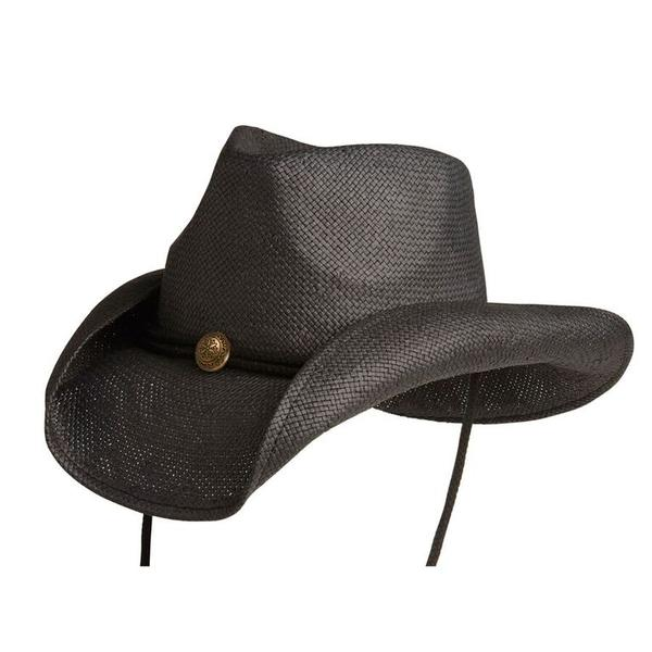 Conner Handmade Hats Cowboy Western Style: Toyo Fairhope Black One Size