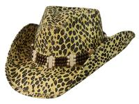 Conner Handmade Hats Cowboy Western Style: Toyo Leopard Camo One Size SALE