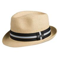 ZSold Conner Handmade Hats Fedora: Toyo Straw Spencer Summer,  Natural, S/M, L/XL SOLD