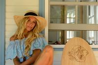 Conner Handmade Hats Beach & Resort: Raffia Latin Quarter Sun Hat Natural One Size