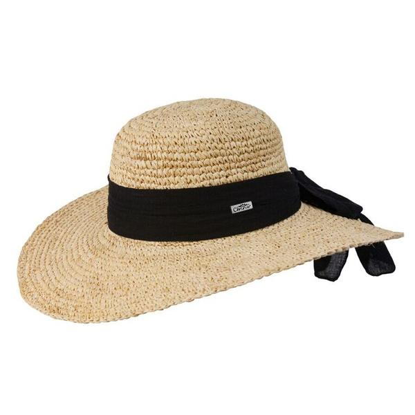 Conner Handmade Hats Beach & Resort: Raffia Latin Quarter Sun Hat Natural