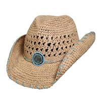 e00eb623cbe 125122 - Conner Handmade Hats Cowboy Western Style  Toyo with Vented Crown  Abaco Natural
