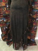 A Pat Dahnke Signature Collection: Distressed Criss Cross Skirt
