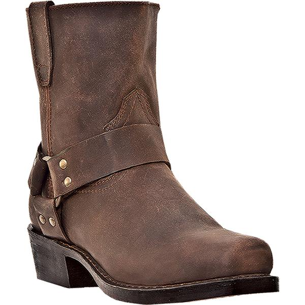 Men's Dan Post Boots Dingo: Harness A Rev-Up Gaucho Snoot Toe D, EW 7-12, 13,14,15,16