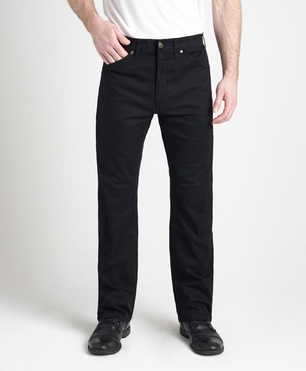 Grand River Clothing Jeans: Regular Size Denim Lightweight Stretch Black 32-42