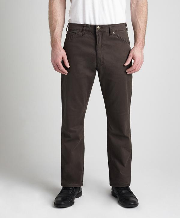 Grand River Clothing Jeans: Regular Size Denim Lightweight Stretch Chocolate Brown 32-42