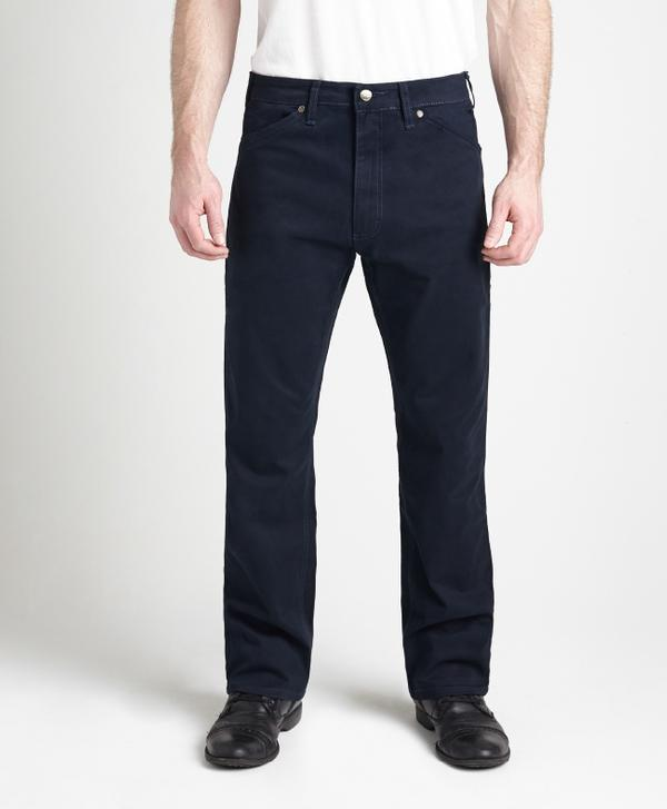 Grand River Clothing Jeans: Regular Size Denim Lightweight Stretch Navy 32-42