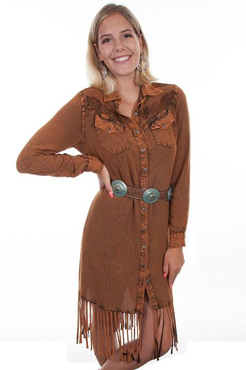 Scully Ladies' Honey Creek Collection Dress: A Western Style