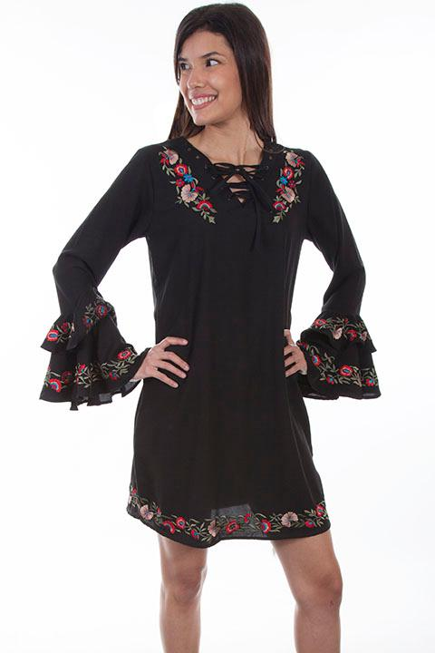 Scully Ladies' Honey Creek Collection Dress: A Spanish Style