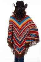 A Scully Honey Creek Collection Accessory: Serape Poncho