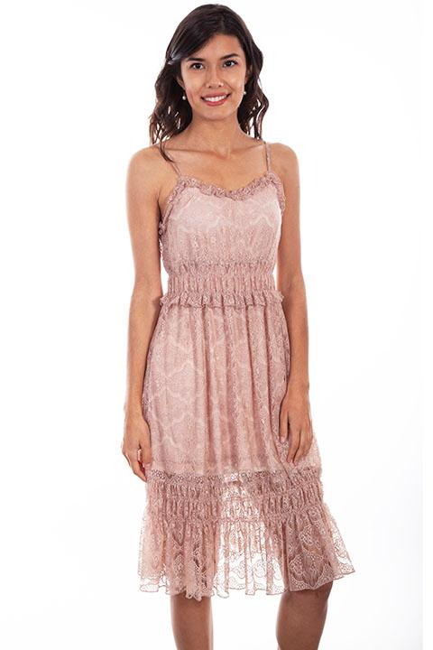 Scully Ladies' Honey Creek Collection Dress: A Lace Tiers