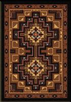 American Dakota Rug: Voices Collection High Rez 3x4 Scatter Drop Ship
