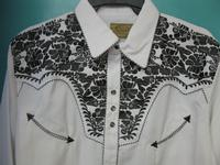 Scully Men's Vintage Western Shirt: The Gunfighter White & Pewter Backordered