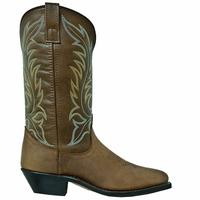 Ladies' Dan Post Boots Western Laredo: Kadi Tan Distressed R Toe M, W 6-10,11