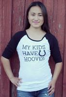 ZSold Original Cowgirl Clothing: Tee Baseball All My Kids Have Horse Hooves SOLD
