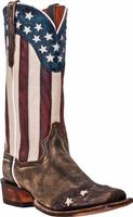 ZSold Men's Dan Post Boots Cowboy Certified: A Liberty Stars and Stripes Snip Toe D 7-12,13 EW 8-12,13 SOLD