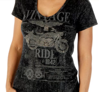 Liberty Wear T-Shirt: Vintage Ride Mineral Wash
