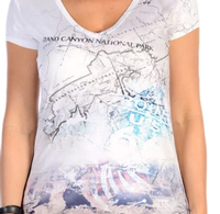 Liberty Wear T-Shirt: Historic Grand Canyon Cartography