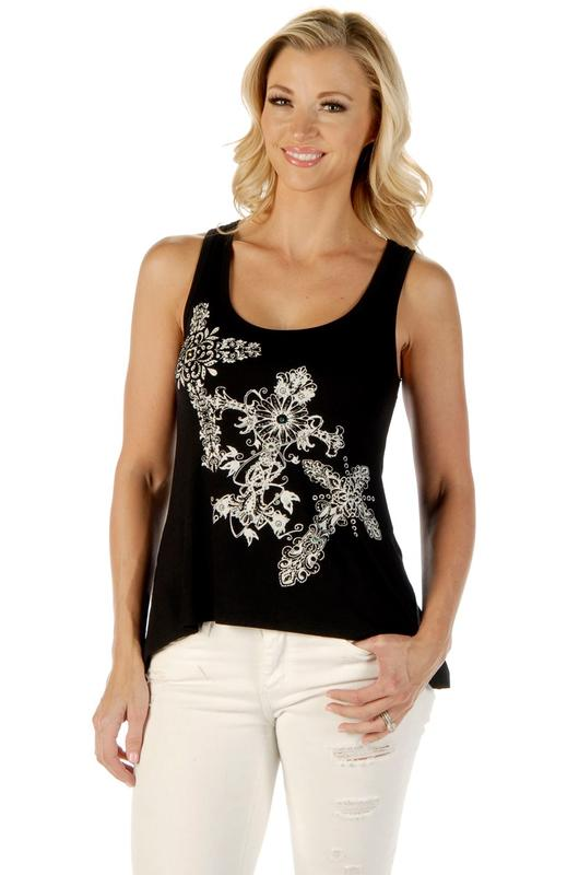 Liberty Wear Tank: My Crossed Life Black