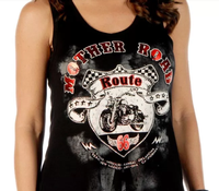 Liberty Wear Tank: Mother Road Black