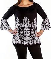 Liberty Wear Top: Ornate Scrolls Tunic